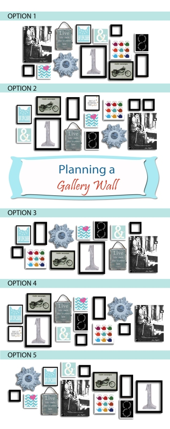 Gallery Wall Planner how to plan a gallery wall {from scratch} | design your home with
