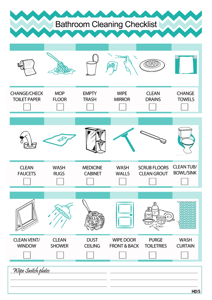 how to create a natural cleaning schedule that works for you and ...