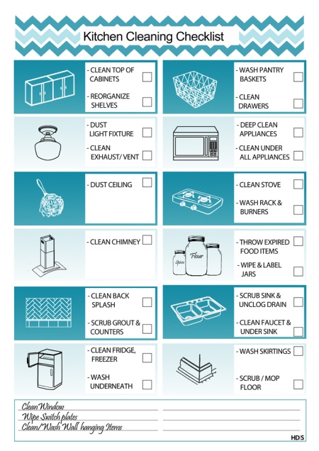 kitchen-cleaning-checklist