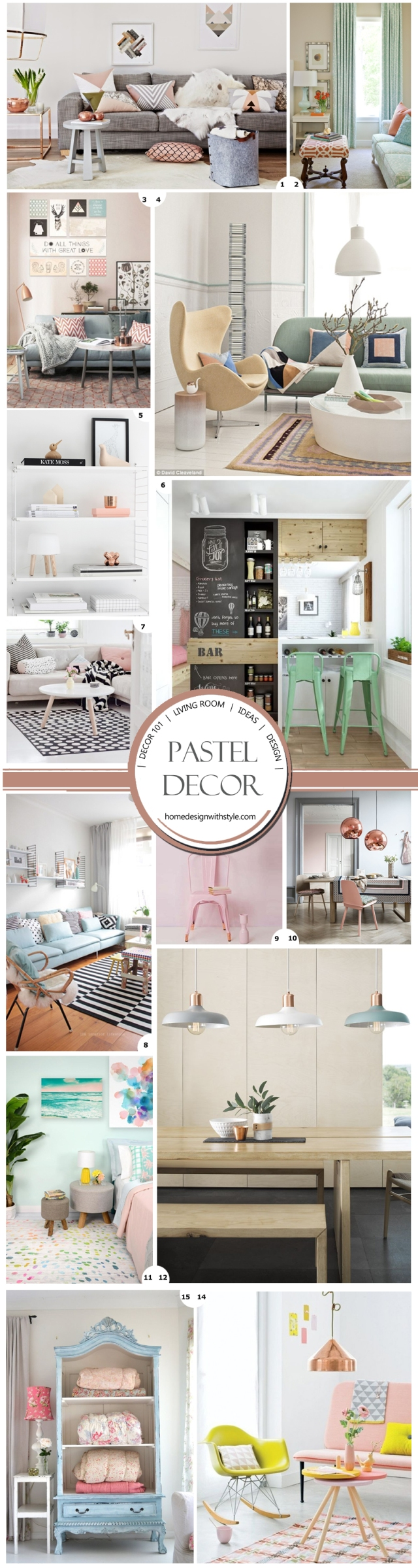DECOR 101: Pastel Living Room | Design Your Home With Style