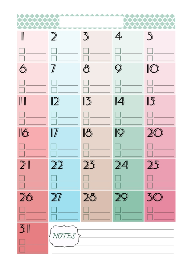 Perpetual-Calendar-Printable