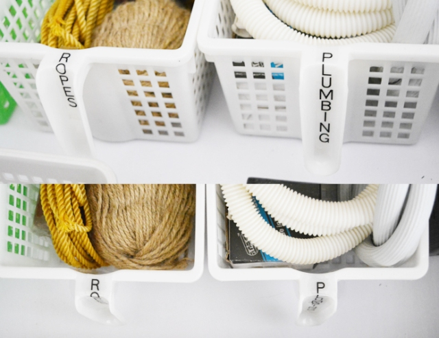 Junk-Drawer-Organization-baskets-labeling