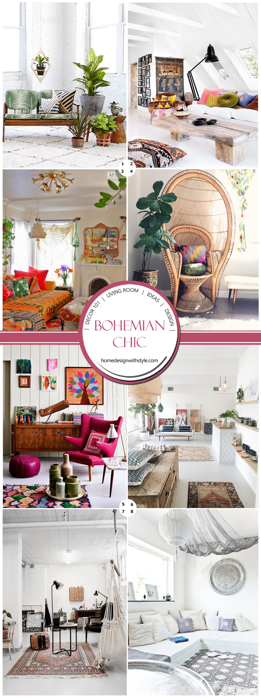 Decor 101 Bohemian Living Room Design Your Home With Style