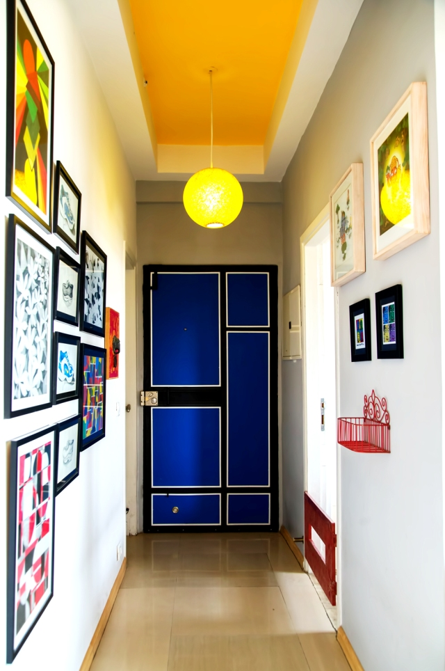 Indian home tour Neha Entrance Lobby