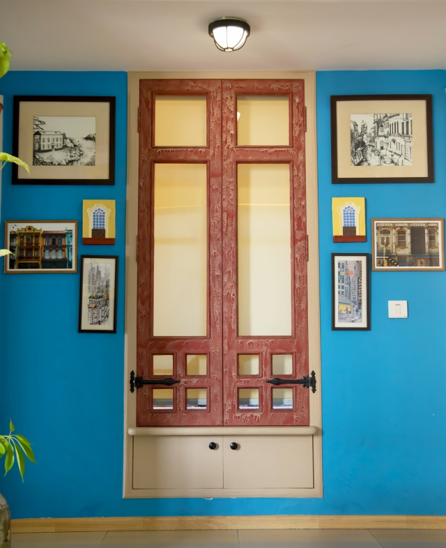 Indian home tour Neha Living Room Old World Window