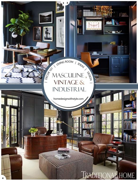 Vintage Living Room Decor.Decor 101 Vintage Industrial Living Room Design Your Home